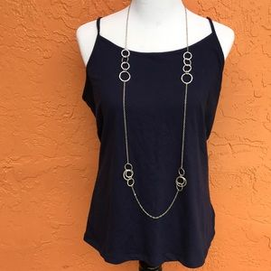 Jewelry - 💐 Very long silver chain & loops necklace